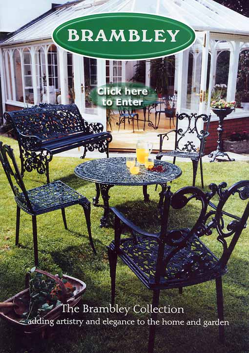 Cast aluminium outdoor benches garden furniture london for Outdoor furniture london